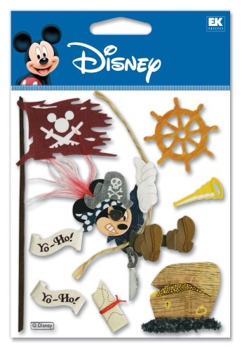 - Disney Pirate Mickey Dimensional Sticker