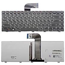 New US Layout Laptop backlit Keyboard For Dell XPS 15 L502X Inspiron 13z N311Z 14 3420 M4040 N4050 N4120 14R 5420 N4110 SE 7420 14z N411z Light Backlight Black Notebook US