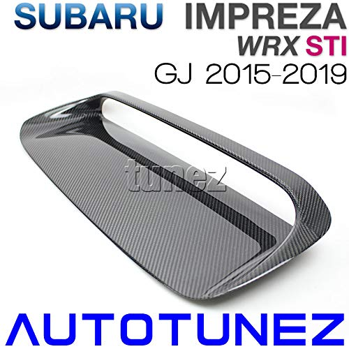 (tunez Carbon Fiber Air Hood Scoop Intake Vent Bonnet for Subaru WRX STI GJ 2015-2019)