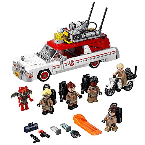 LEGO Ghostbusters Ecto-1 & 2 75828 Building Kit (556 Piece) -