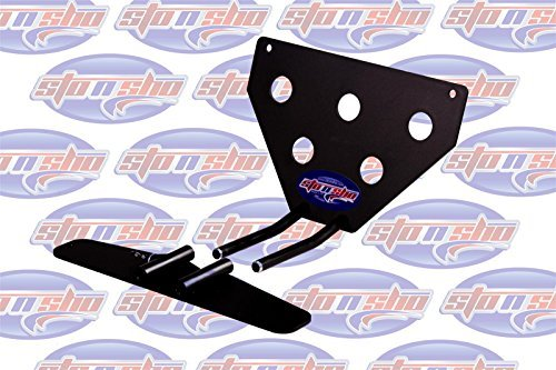 - 2016-2019 Camaro with factory ground effects Sto-N-Sho Removable Take Off Front License Plate Frame Bracket