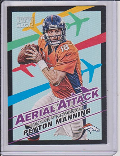2013 Topps Magic Peyton Manning Broncos Aerial Attack Insert Football Card (Peyton Single)
