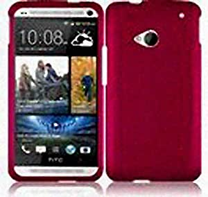 Hot Pink Hard Cover Case for HTC One
