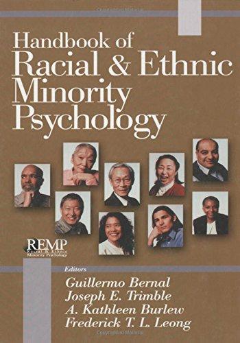 Handbook of Racial and Ethnic Minority Psychology (RACIAL ETHNIC MINORITY PSYCHOLOGY)