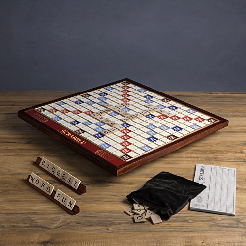 Deluxe Giant Scrabble Game by Scrabble (Image #2)