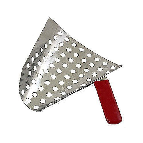 Gold Medal Perforated S/S Popcorn Jet Scoop by Gold Medal