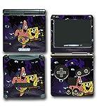 Spongebob Squarepants Patrick Friends Octopus Video Game Vinyl Decal Skin Sticker Cover for Nintendo GBA SP Gameboy Advance System