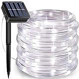 Solar Rope Lights, 66 Feet 200 LED 8 Modes Solar