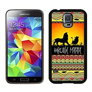 Dayitrade Hard Plastic Samsung Galaxy S5 Case Black Cover