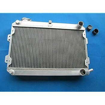 Aluminum Radiator /& Fan for Mazda RX-7 RX7 SA//FB S1 S2 S3 12A//13B 1979-1985 MT
