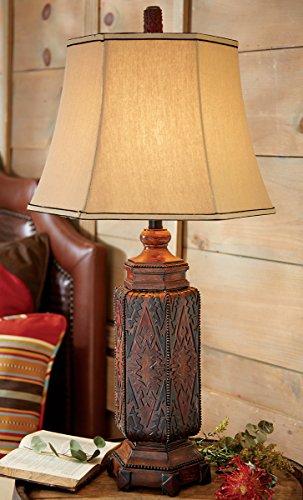 Black Forest Decor Cordova Southwestern Table Lamp - Rustic Lighting