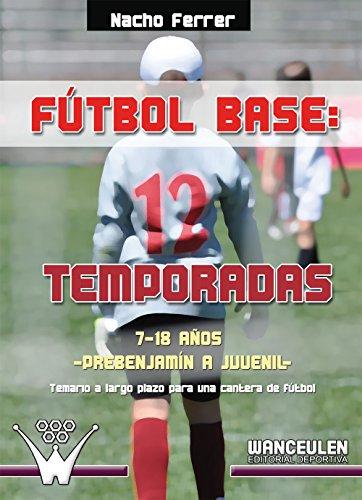 Fútbol base 12 temporadas. 7-18 años, desde prebenjamín a juvenil: Temario