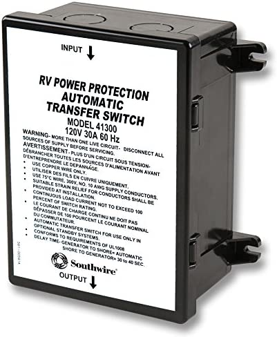 30 Amp Surge Guard 41300 Basic Automatic Transfer Switch