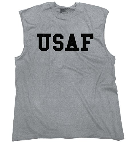 United States Air Force Armed Services Logo Sleeveless T-Shirt (Logo Sleeveless T-shirt)