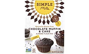 Simple Mills Almond Flour Mix, Chocolate Muffin & Cake, 10.4 oz (PACKAGING MAY VARY)