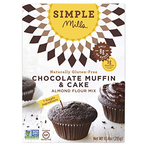 Simple Mills Chocolate Muffin & Cake Mix, 10.4 Ounce