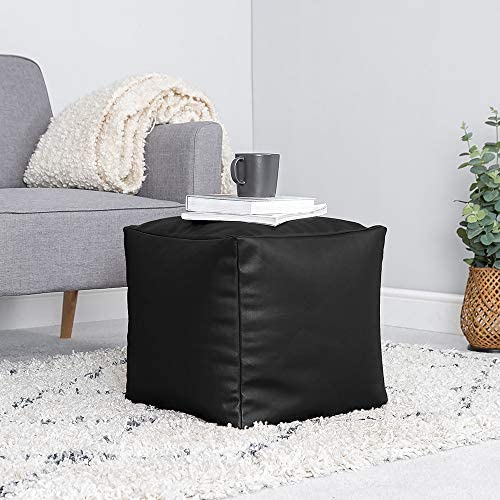Edderton Bean Bag Cube Soft  Pouffe