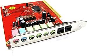 Cablematic - Tarjeta Sonido Envolvente 7.1 PCI con SPDIF