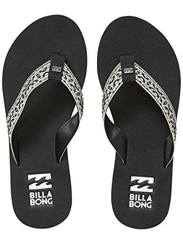 Billabong BLACK Baja Sandale Damen Sandale Billabong Damen Baja BLACK Billabong Baja c4vBv7W