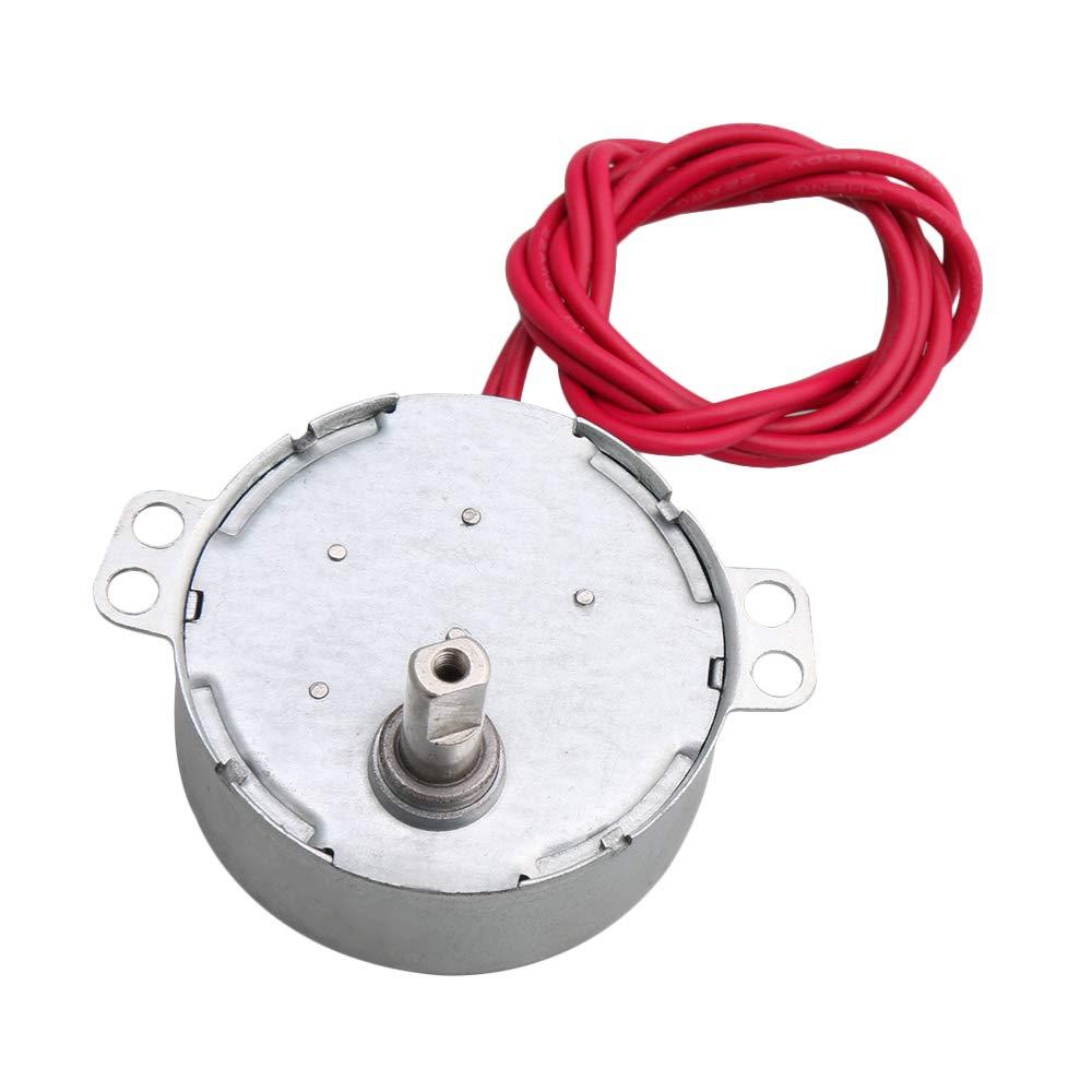 CNBTR Synchronous Motor CW CCW Turntable Gear Box Power AC 5V 15-18RPM 1.5KGF.cm Torque Heater Electric Fan Air Conditioner DIY yqltd