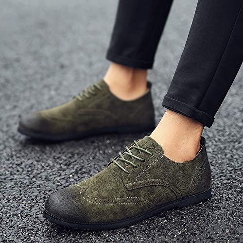 Suedepu Trend Shoes Leisure Fashion Men's Nanxieho Men wvAqFA