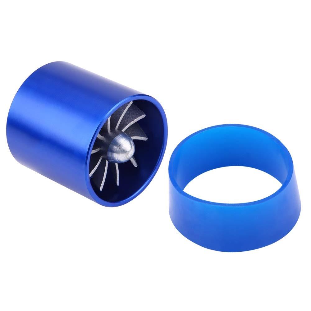 Turbonator Fuel Saver-55mm Prise DAir De Voiture Turbonator Simple Ventilateur Turbine Super Chargeur Essence Fuel Saver Turbo