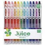 Pilot Juice Gel Ink Ballpoint Pen, 0.5mm, 12 Color Set (LJU-120EF-12C)