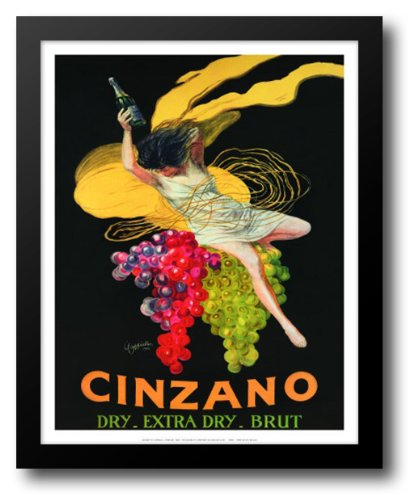 Asti Cinzano High Quality Framed Art Print Leonetto Cappiello