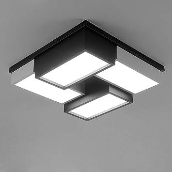 LLZXDD Plafón Lámpara De Techo Led Panel De Lámpara Moderno ...
