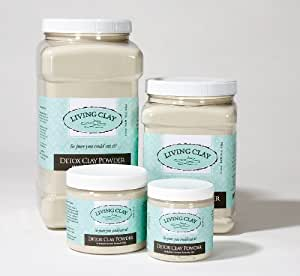 "All Natural Calcium Bentonite Clay Powder - ""Living Clay®"" (455 Grams - 16 Oz)"