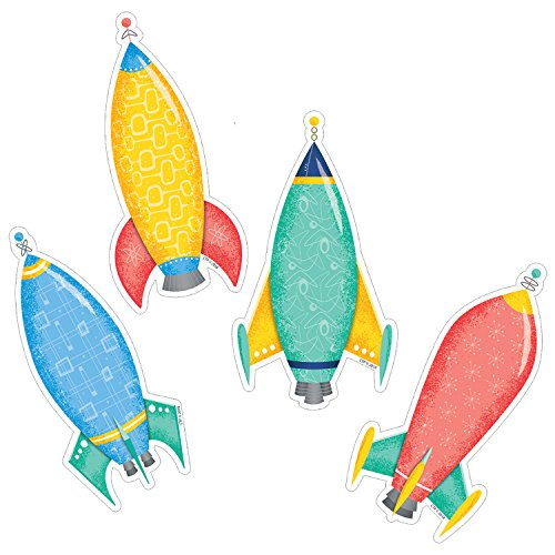 Creative Teaching Press Mid Century Mod Rockets 6
