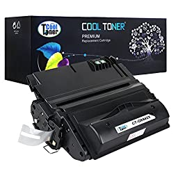 Cool Toner 1 Pack 20,000 Pages Compatible Toner Cartridge Replacement For HP 42X Q5942X Q1338A Q5942 Used For HP LaserJet 4200 4240 4250 4250TN 4250N 4250DTN 4300 4350 4345MFP 4350N 4350TN 4350DTN