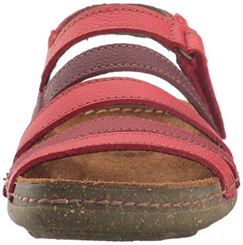 El Naturalista Womens Torcal N388 Flat Sandal Tibet Mixed