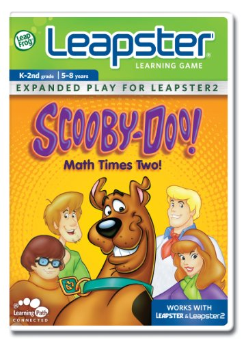 [Leapfrog Leapster Learning Game: Scooby - Doo, Math Times Two] (Leapster 2)