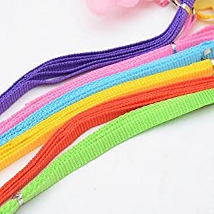 Cute Angel Small Pet Dog Leads and Collars Set, Fheaven Puppy Leads Designer Wing Adjustable Harness for Small Pet (XS, Purple)