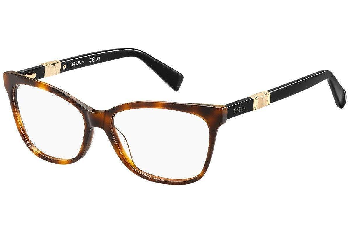 Max Mara Max Mara 1290 0BHZ Havana Rose Gold Eyeglasses