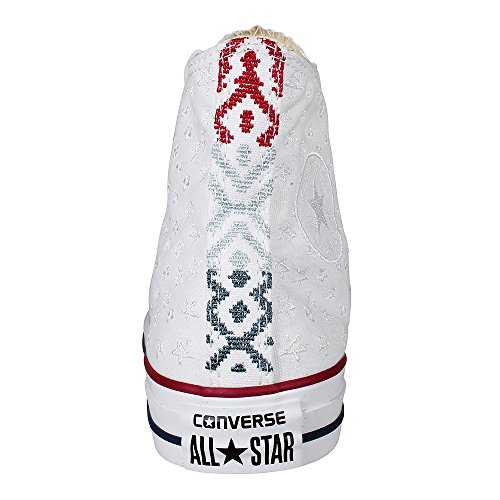 Pink Casino Sneakers Top white Hi alte White tan Red Ctas Converse Barely 7xwHa6qq