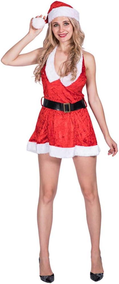 CHRISTMAD Gift Adulto Falda Navideña,Disfraz De Navidad De Dama ...