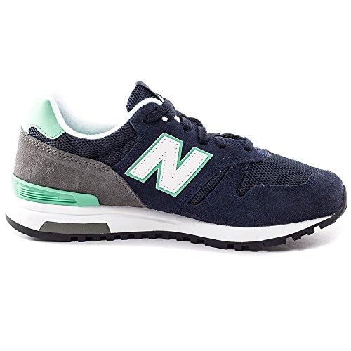 New Balance Nbwl565np, Zapatillas de Gimnasia para Mujer Azul