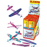 Flying Gliders 7.87 in. Party Bag stuffers, Children's Games & Prizes (Pack of 6)