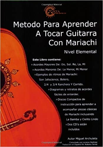 Amazon.com: MARIACHI METHOD FOR GUITAR (BOOK/2-CD PACK) - SPANISH ...