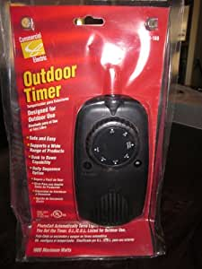 Commercial Electric Indoor/outdoor Mechanical Timer