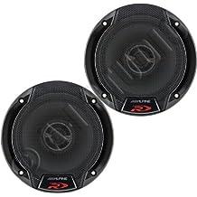 """Alpine SPR-50 5.25"""" Car Audio Coaxial Speakers (Pair)"""