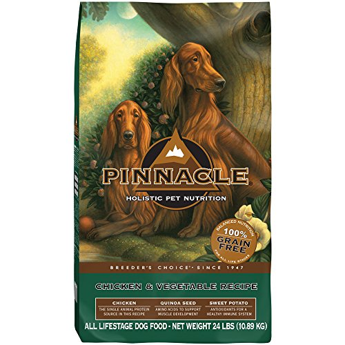 Pinnacle Grain Free Chicken and Vegetable Formula Dog Food, 24 lb.