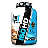 BPI Sports ISO HD 100% Whey Protein Isolate and Hydrolysate Powder, Peanut Butter Candy Bar, 4.97 Pound by BPI Sports