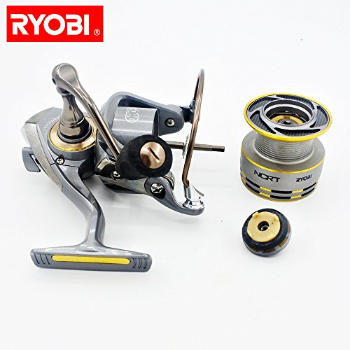 - SHUDAGE Outdoor Fishing ღ RYOBI ZAUBER Aluminum Body Rotor Ultra Smooth 6+1 BB Spinning Fishing Reel