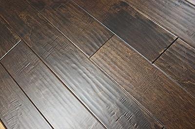 "Elk Mountain Birch Mirage 3/8 x 5"" Hand Scraped Engineered Hardwood Flooring SAMPLE"