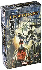 Upper Deck Marvel Legendary Deck Noir Expansion Building Game