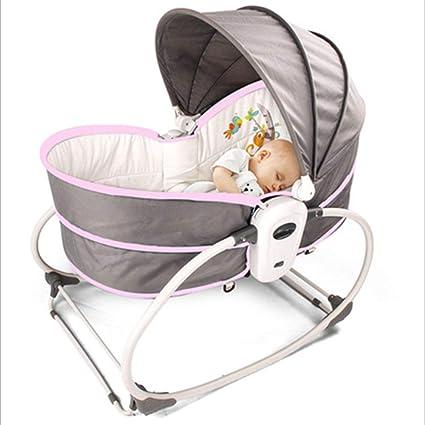 Amazoncom Baby Sleeper Cot Bed 4 In 1 Multifunctional Rocker