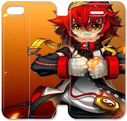 Klreng Walatina® Coque iPhone 6 6s Plus de 5,5 pouces Coque cuir sud-coréen Mmorpg Grand Chase H8L4Fj